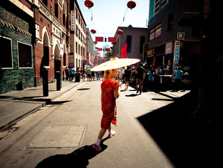 What are some of the most important lessons you have learned from shooting on the streets?