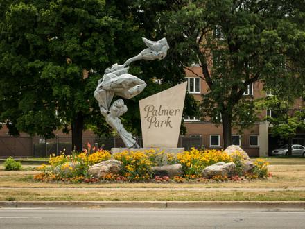 Palmer Park Entrance