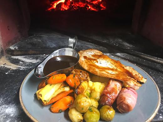 Roast Turkey Escallop