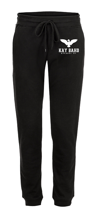 Black Wingspread Sweatpants