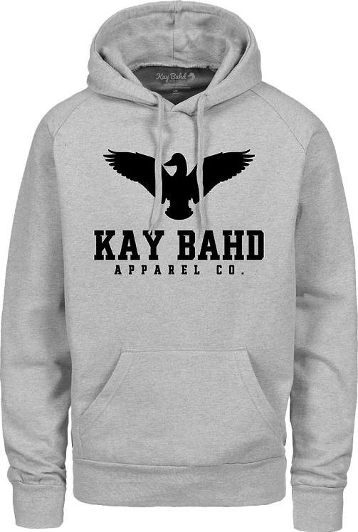 Grey Heather Wingspread Hoodie