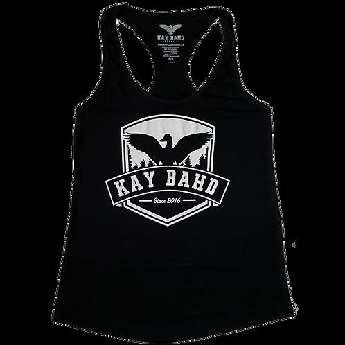 Ladies Black Crest Tank