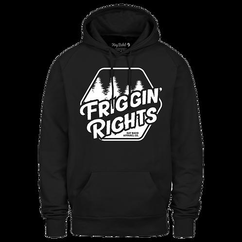 Black Friggin' Rights Hoodie