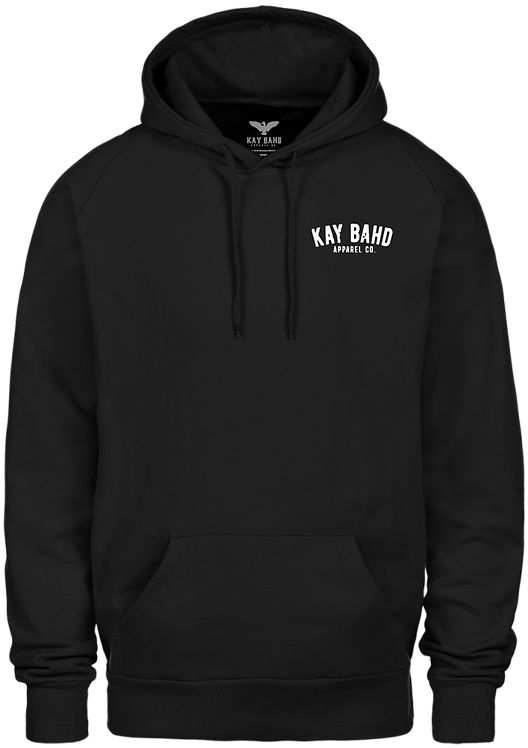 Black Just Give'r Hoodie (Two-Sided)