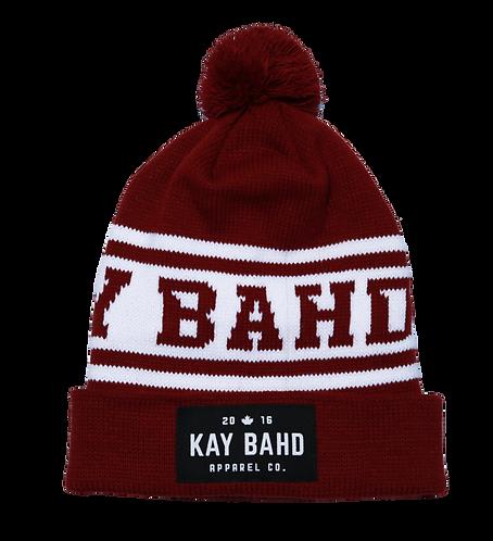 Burgundy Kay Bahd Toque