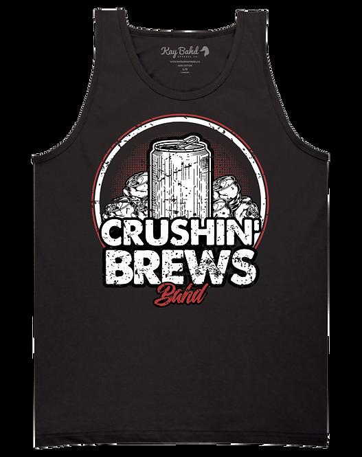 Black Crushin' Brews Tank