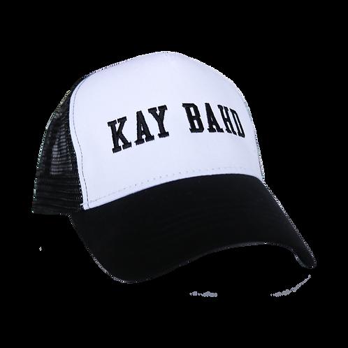 Kay Bahd Bent Brim Trucker Hat