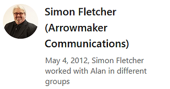 LinkedIn - Simon Fletcher