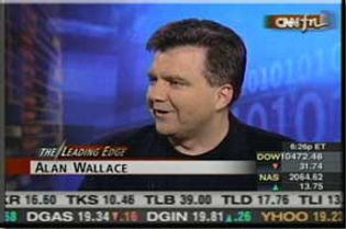 Alan Wallace on CNNFN