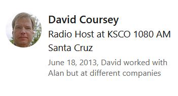 David Coursey LinkedIn