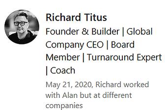 Richard Titus LinkedIn