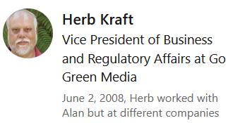 Herb Kraft LinkedIn