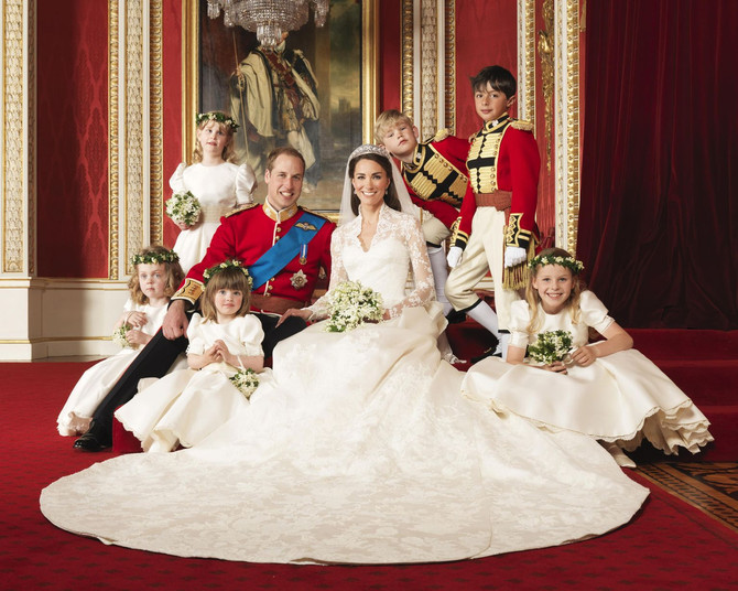Throwback to Kate Middleton and Prince William's Wedding