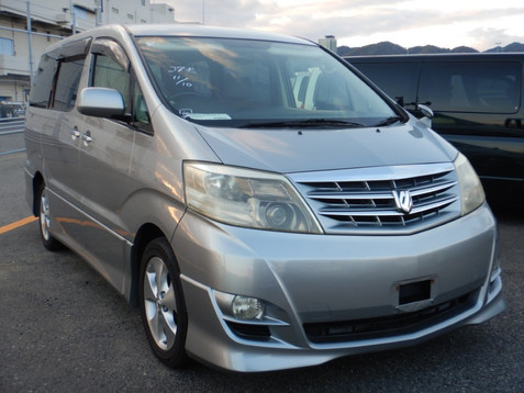2006 Toyota Alphard AS Limited MPV, Petrol, Silver £8250    due mid Feb
