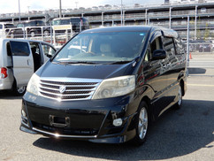 2007 Toyota Alphard As Prime Selection , 1/2 leather seats (ref 035) £9495