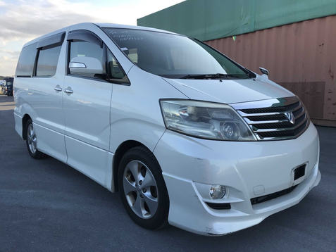 2006 Toyota Alphard 3.0 MS Limited MPV, Sunroof, Petrol, Pearl  £8995   Due mid Feb