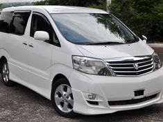 2005 Toyota Alphard MS 4WD, Due Mid Sep, £9495