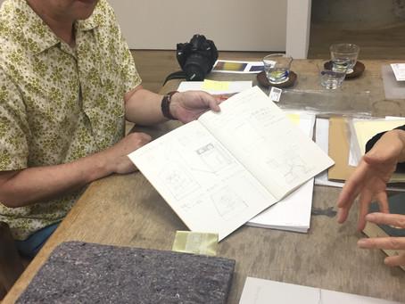 上村から、絵本版の最初の案が出てくる。