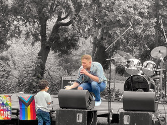 Robert Performs For North Jersey Pride!