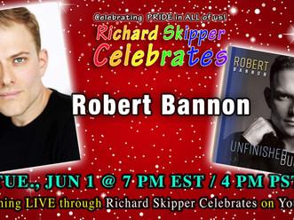 Robert will be live with Richard Skipper June 1st!