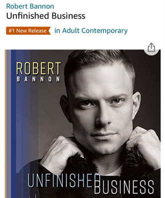 Robert Hits #1 on Amazon A/C New Release Chart