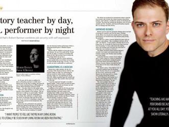 (201) Magazine Profiles Robert and His New Album