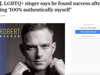 NJ.COM/Star Ledger Runs Profile on Robert's Journey
