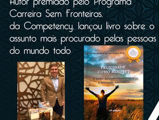 Competency participa de lançamento do livro Felicidade com Mindset