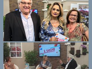 Rede Brasil de Televisão - Programa a Tarde é Show.