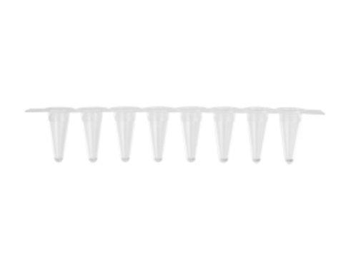 qPCR strip tubes and caps 0.1 mL x 8