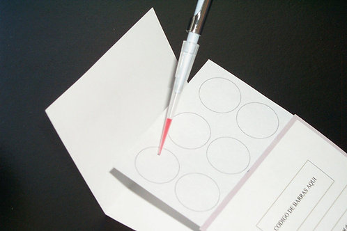 Papel Nucleico - Recolección DNA, tarjetas de 6 spots