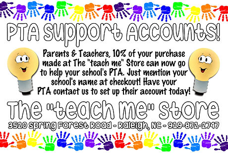 PTA Support Accounts for Schools