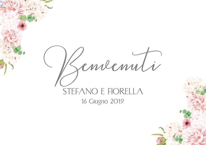 CARTELLO BENVENUTO_MODELLO FIORELLA
