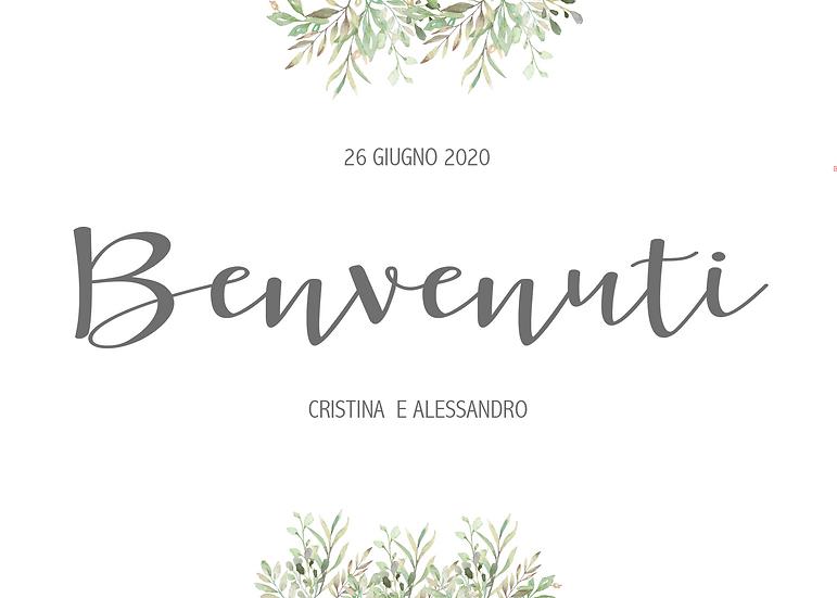 CARTELLO BENVENUTO_MODELLO CRISTINA