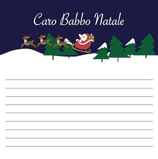 CARO BABBO NATALE_ versione blu