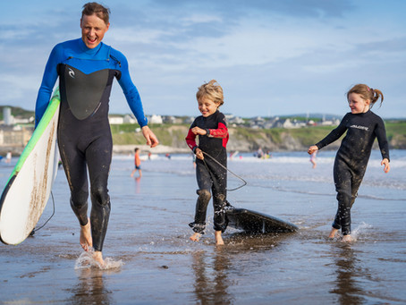 Kids discover the Joy of Surfing
