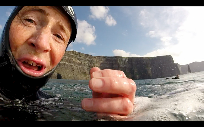GoPro: Surfing at the Cliffs of Moher