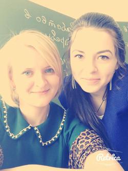 Алина и я.Каскара2014