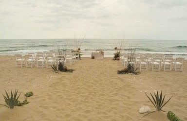 Beach Wedding and Reception