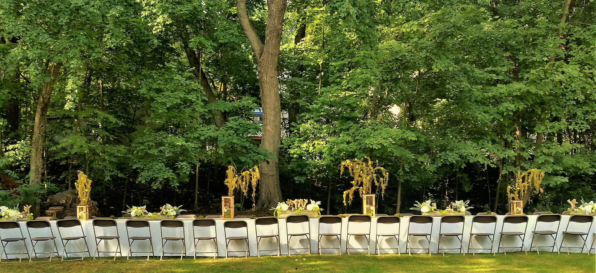 Enchanted Forest Wedding Reception