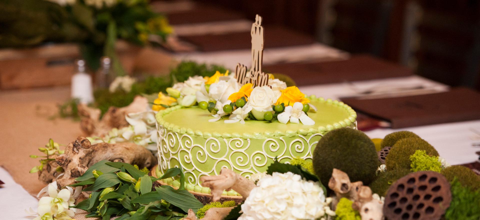 Pretty Park Wedding and Reception