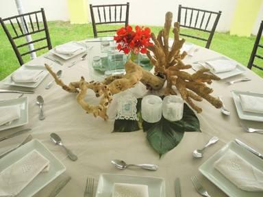 Beach Wedding and Reception
