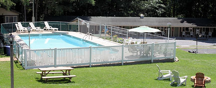 Pool at Green Haven Resort Lake George