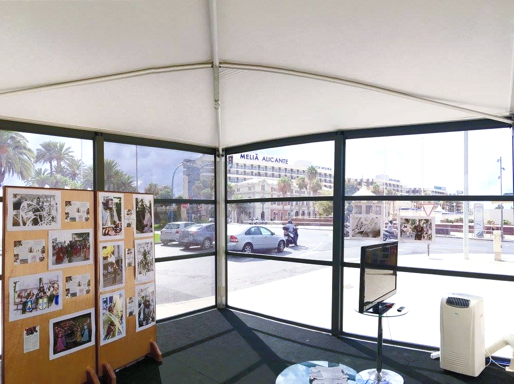 премиум шатер для магазина