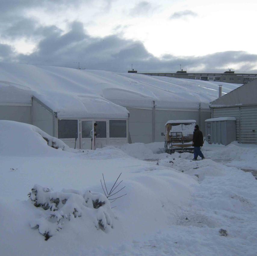 шатры с снеговой нагрузкой