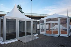 аренда шатра для магазина
