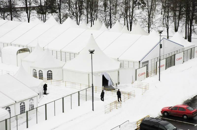 шатры для ярмарок