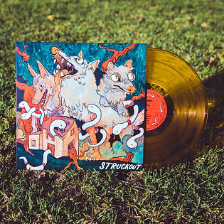 Struckout's new LP out July 20th!