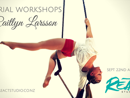 Aerial Workshops with Caitlyn Larsson