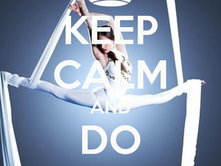 Keep Calm and react!